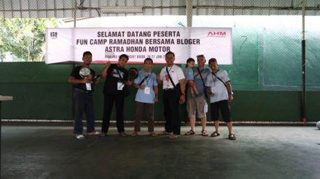 astra honda motor fun camp ramadhan bersama bloger di bogor 01 Pertamax7.com