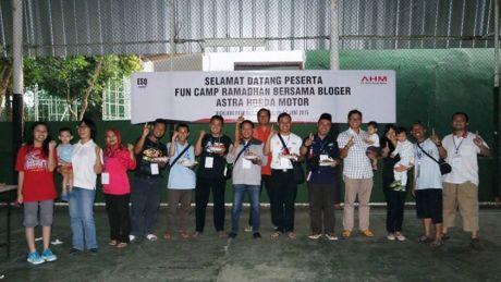 astra honda motor fun camp ramadhan bersama bloger di bogor 10 Pertamax7.com
