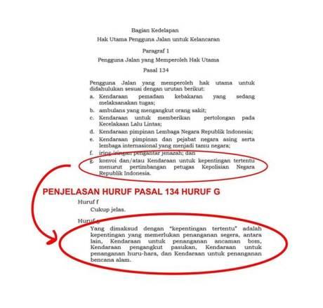 Dalam Undang-Undang Konvoi Moge Tidak termasuk Pengguna Jalan Yang Memperoleh Hak Utama 00 pertamax7.com
