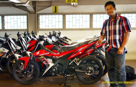 First Sight Bertemu New Honda Sonic 150R 01 Pertamax7.com