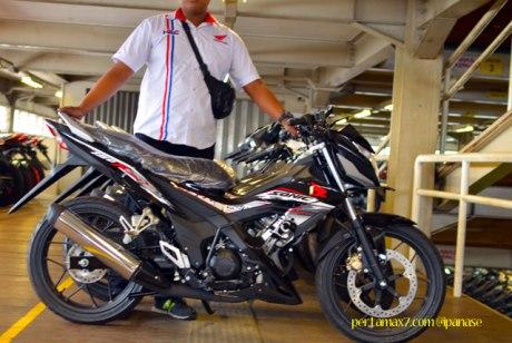 First Sight Bertemu New Honda Sonic 150R 02 Pertamax7.com