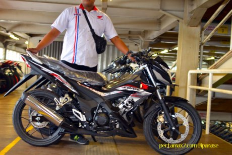 First Sight Bertemu New Honda Sonic 150R 02 Pertamax7.com