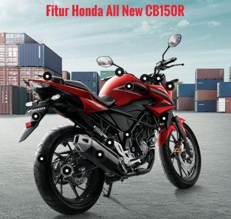 fitur honda CB150Rfacelift 2015 pertamax7.com