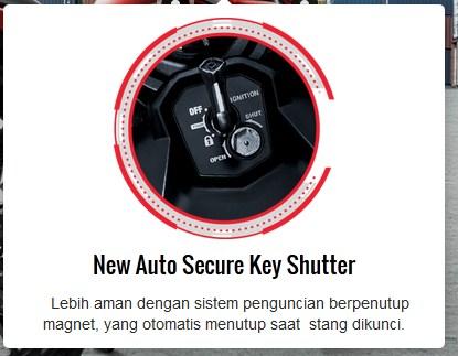 fitur new honda CB150R facelift 2015 kunci magnet otomatis pertamax7.com