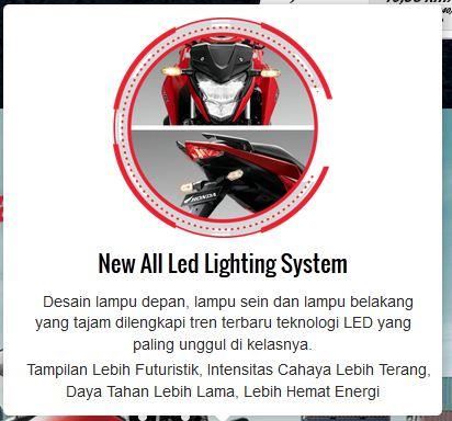 fitur new honda CB150R facelift 2015 semua lampu pakai LED lebar pertamax7.com