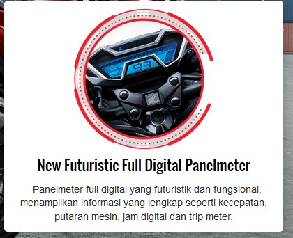 fitur new honda CB150R facelift 2015 speedometer full digital pertamax7.com
