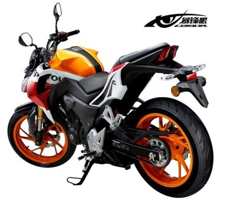 Foto Honda CB190R Tiongkok dan Spesifikasinya 06 Pertamax7.com