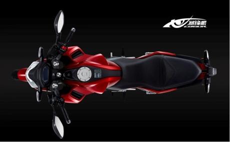 Foto Honda CB190R Tiongkok dan Spesifikasinya 07 Pertamax7.com