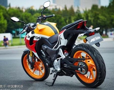Foto Honda CB190R Tiongkok dan Spesifikasinya 32 Pertamax7.com