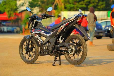 Foto testride all new Honda Cb150R dan New honda Sonic 150R 01 Pertamax7.com