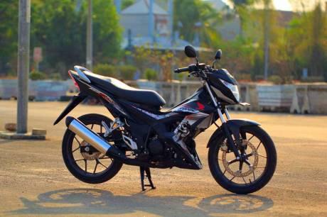 Foto testride all new Honda Cb150R dan New honda Sonic 150R 04 Pertamax7.com