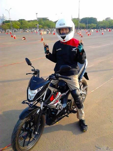 Foto testride all new Honda Cb150R dan New honda Sonic 150R 08 Pertamax7.com