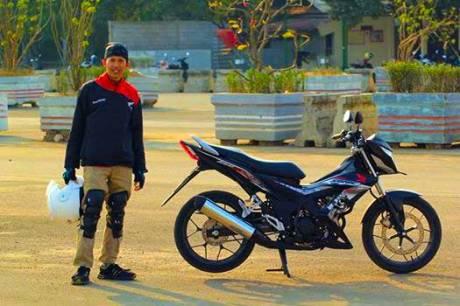 Foto testride all new Honda Cb150R dan New honda Sonic 150R 10 Pertamax7.com