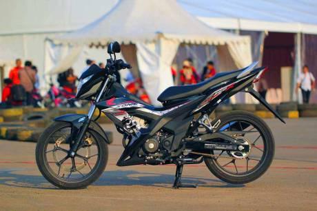 Foto testride all new Honda Cb150R dan New honda Sonic 150R 18 Pertamax7.com