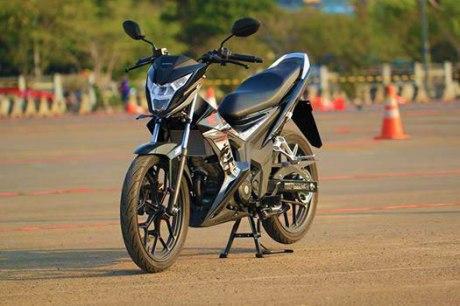 Foto testride all new Honda Cb150R dan New honda Sonic 150R 19 Pertamax7.com