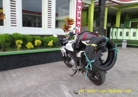 Ganti Ban Michelin Pilot Street Radial buat Yamaha New Vixion di Mitra Ban Solo 13 Pertamax7.com