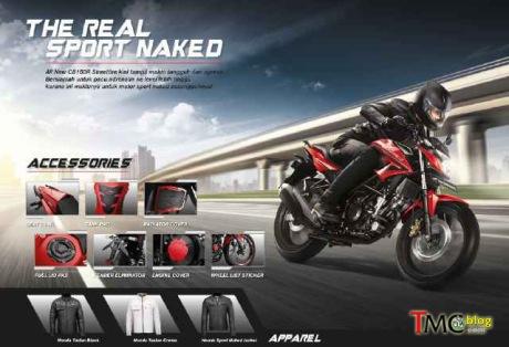 Ini Dia 3 Warna Honda CB150R facelift 2015, Siap tantang tabunganmu01 Pertamax7.com