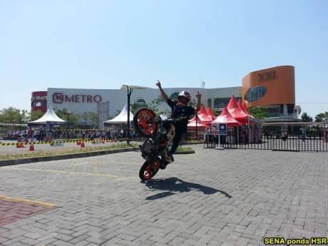 Intip suasana Grand Launching All New Honda CB150R dan New Sonic 150R di Solo Baru Jateng 00 pertamax7.com