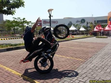 Intip suasana Grand Launching All New Honda CB150R dan New Sonic 150R di Solo Baru Jateng 01 pertamax7.com