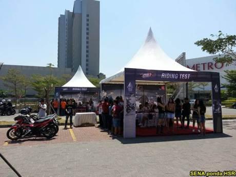 Intip suasana Grand Launching All New Honda CB150R dan New Sonic 150R di Solo Baru Jateng 04 pertamax7.com