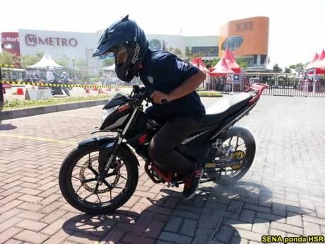 Intip suasana Grand Launching All New Honda CB150R dan New Sonic 150R di Solo Baru Jateng 05 pertamax7.com