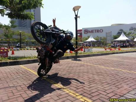 Intip suasana Grand Launching All New Honda CB150R dan New Sonic 150R di Solo Baru Jateng 09 pertamax7.com