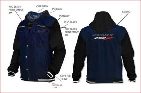 jaket honda sonic 150R pertamax7.com