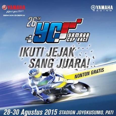 Jelang Yamaha Cup Race Seri ke-5 Pertama kali di Pati Jawa Tengah, Ayo Nonton pertamax7.com
