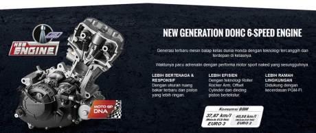 konsumsi bbm honda new CB150R euro3 tembus 37,87 KM per liter pertamax7.com