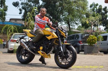 Meriahnya Blogger testride All New Honda CB150R StreetFire dan New Sonic 150R 01 Pertamax7.com