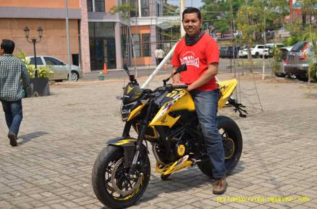 Meriahnya Blogger testride All New Honda CB150R StreetFire dan New Sonic 150R 04 Pertamax7.com