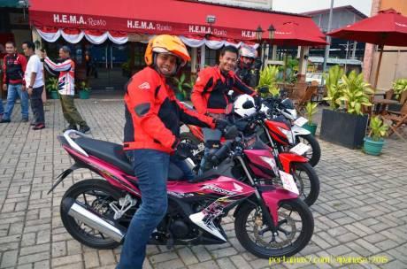 Meriahnya Blogger testride All New Honda CB150R StreetFire dan New Sonic 150R 09 Pertamax7.com