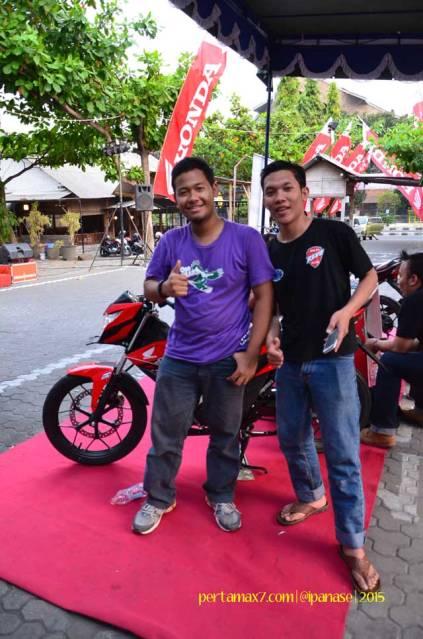 Meriahnya Komunitas Honda Yogyakarta Beradu Futsal sambil Nonton New Sonic 150R 06 Pertamax7.com