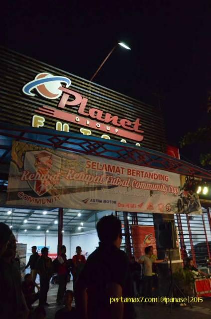 Meriahnya Komunitas Honda Yogyakarta Beradu Futsal sambil Nonton New Sonic 150R 09 Pertamax7.com