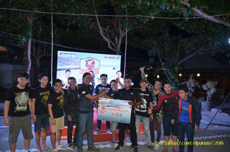 Meriahnya Komunitas Honda Yogyakarta Beradu Futsal sambil Nonton New Sonic 150R 11 Pertamax7.com