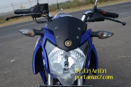 Modifikasi-Yamaha-Vixion-Ligntning-pakai-Lampu-New-Vixion-Advance,-Lancip-sinar-fokus-2 pertamax7.com