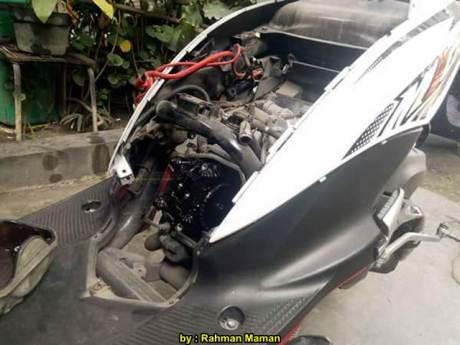 Oli gardan Kok dipakai di Mesin Motor, Mio J Brodol 00 pertamax7.com