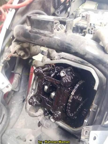 Oli gardan Kok dipakai di Mesin Motor, Mio J Brodol 01 pertamax7.com