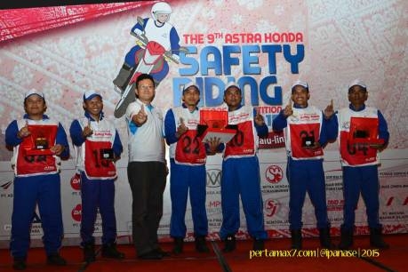Pemenang Astra Honda Safety Riding Instructor Competition 2015 di Palembang 07 Pertamax7.com