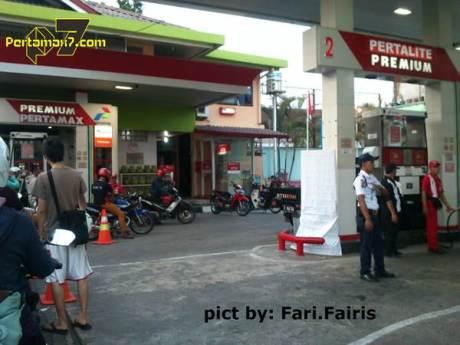 Pertamina Pertalite sudah Nongol di Jogja harga promosi Rp.8400 00 pertamax7.com