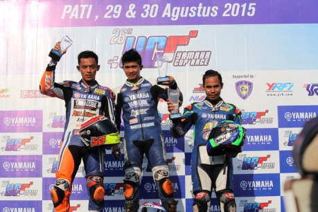 Podium yamaha cup race pati kelas YCR 4 pertamax7com