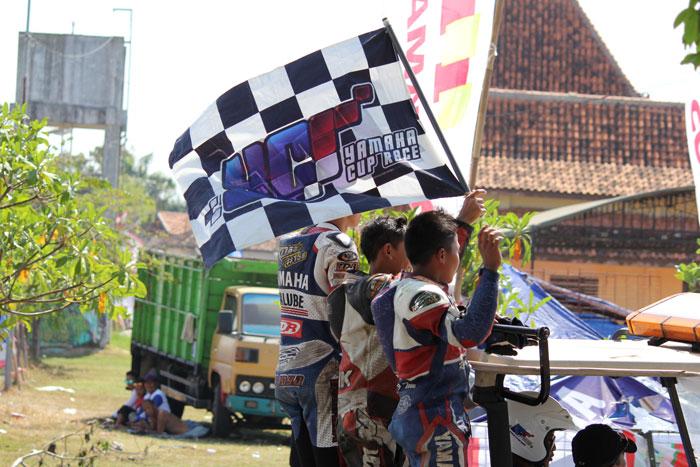 Podium yamaha cup race pati kelas YCR 7 pertamax7com