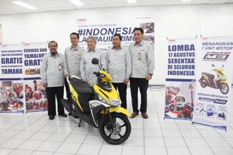 Press Conference Pesta Merdeka Yamaha #Indonesialampauidirimu (2)