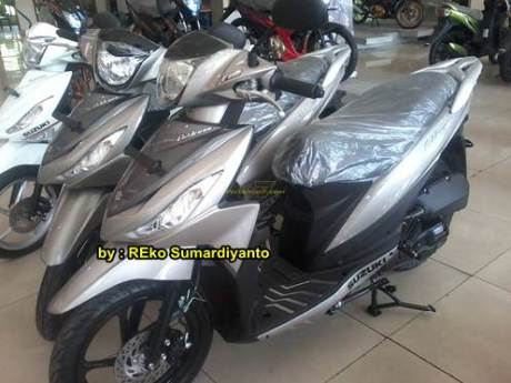 Suzuki Address Warna GunMetal Polos sudah dijual di Indonesia 00 pertamax7.com