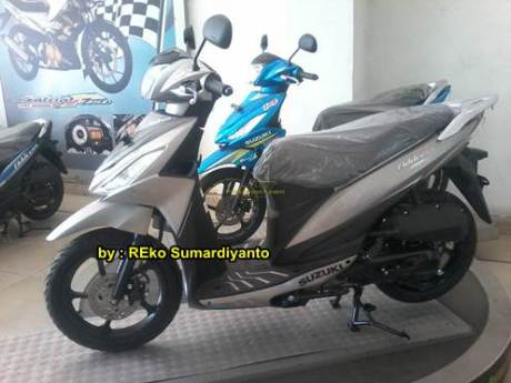 Suzuki Address Warna GunMetal Polos sudah dijual di Indonesia 01 pertamax7.com
