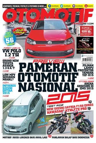 tabloid otomotif edisi 15XXV 20-26 Agustus 2015 Performa Suzuki New Satria F Euro 3 dibawah Satria F Euro 2, Wajar Sih
