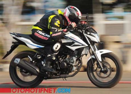 testride all new honda CB150R streetfire nonjok di putaran menengah atas 03 Pertamax7.com