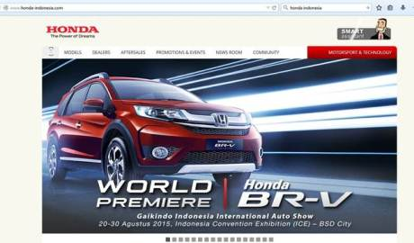 website honda indonesia pertamax7.com