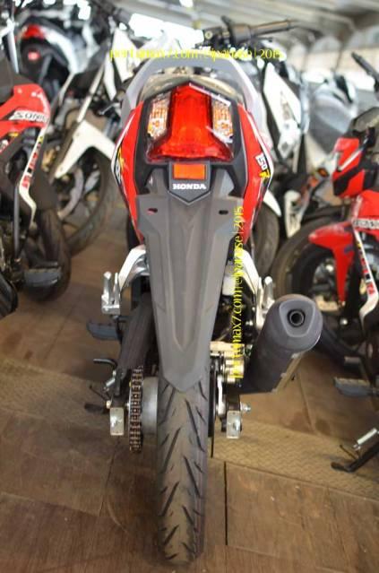 Wujud Detail Lampu Belakang new Honda Sonic 150R 01 Pertamax7.com
