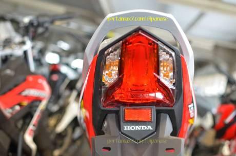Wujud Detail Lampu Belakang new Honda Sonic 150R 02 Pertamax7.com